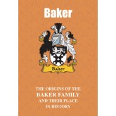 Baker Family Name Book