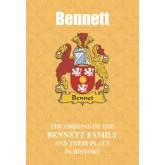 Bennett Family Name Book
