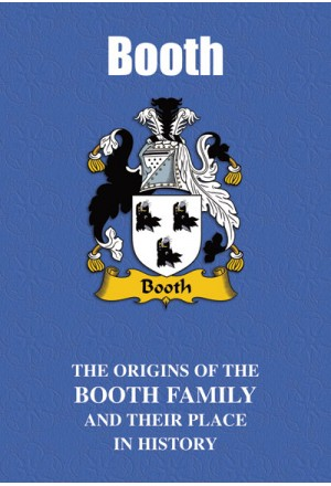 Booth Family Name Book