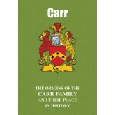 Carr Family Name Book