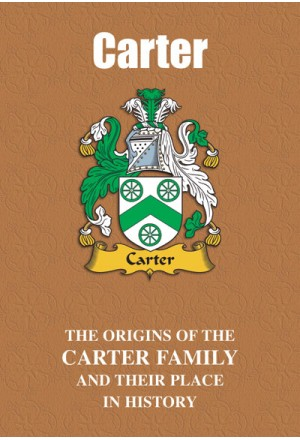 Carter Family Name Book