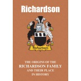Richardson Family Name Book
