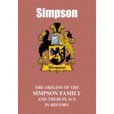 Simpson Family Name Book